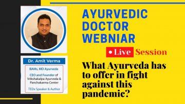 Ayurvedic doctor webniar